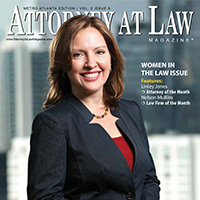 Linley Jones Named Attorney at Law Magazine's Attorney of Month (2014)